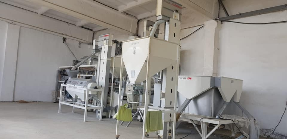 We are as  AKYUREK TECHNOLOGY succesfully installed the 5 tons / hour capacity