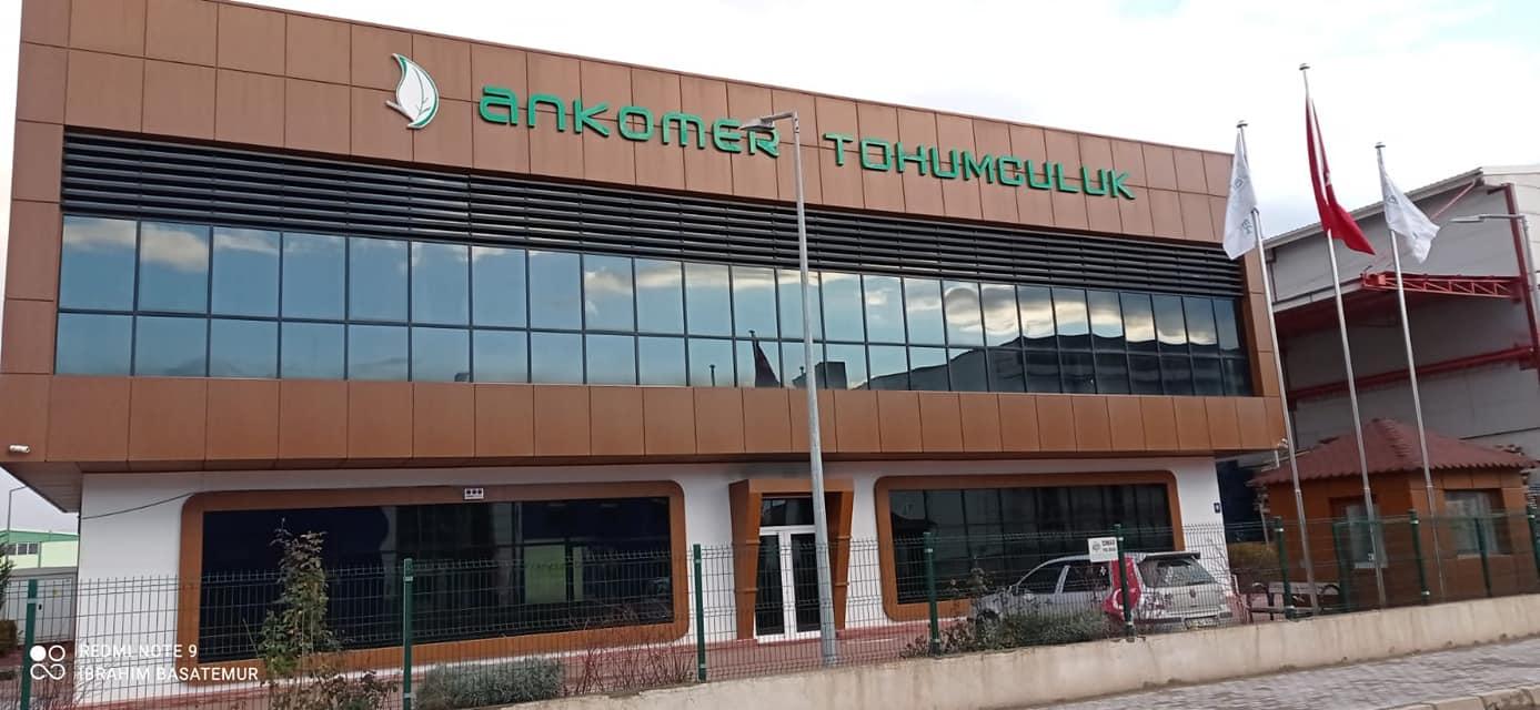 New investment from ANKOMER TOHUMCULUK / ANKARA company.