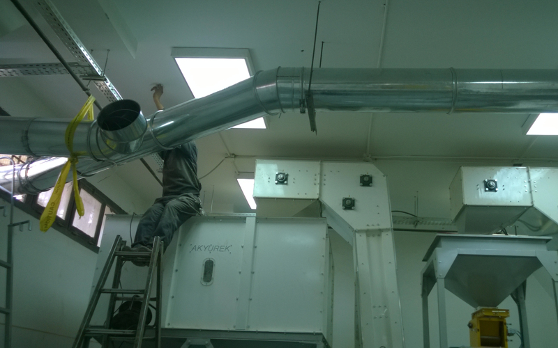 Sesame Cleaning Line  in Egypt - Fully Automatic