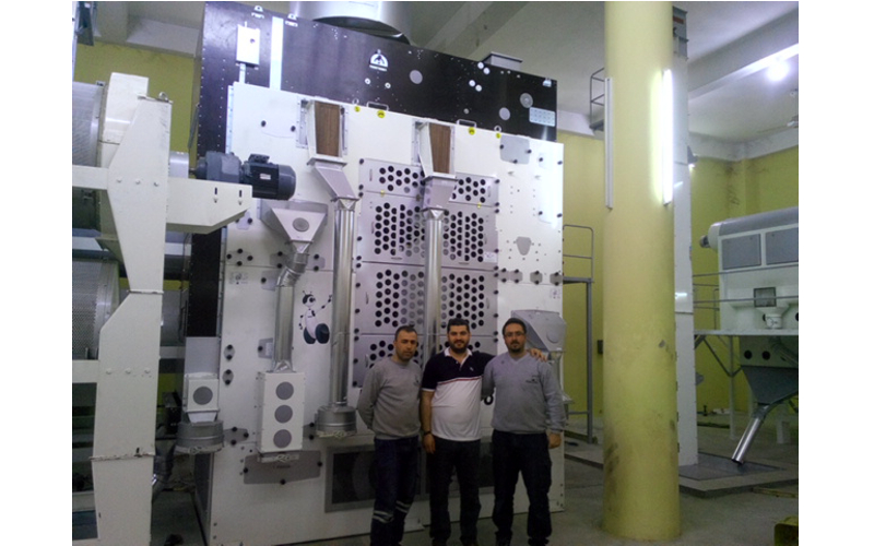 Pulses Cleaning Line in Mosul