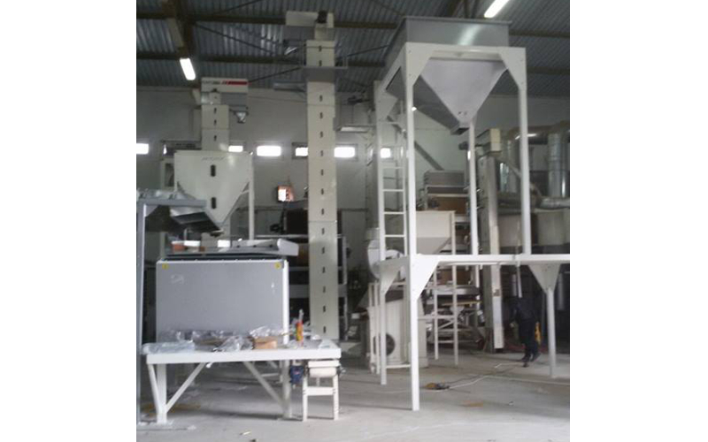 GEÇİTKUŞAĞI AGRICULTURAL RESEARCH INSTITUTE /ESKİŞEHİR preferred Akyurek Technology for seed cleaning plant.