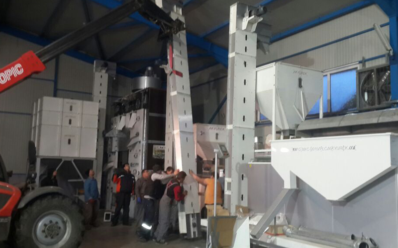 AKSNEV/BULGARIA company strengthened its facility with new machines
