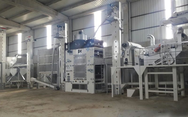 ALTILAR OTOMOTİV AND TARIM company is getting stronger with new seed plant