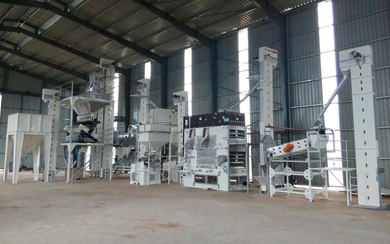 Nigeria 5 T/H Sesame Cleaning Plant