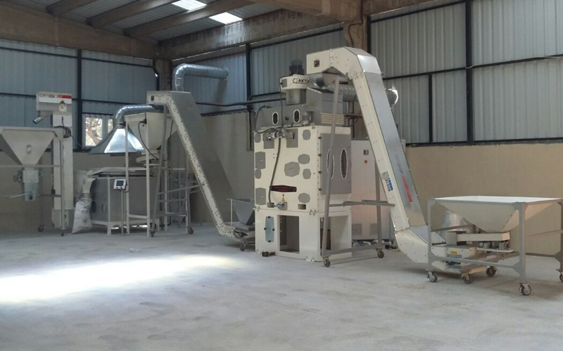 100Kg/1 T/h  Small Oil Seed Cleaning Plant