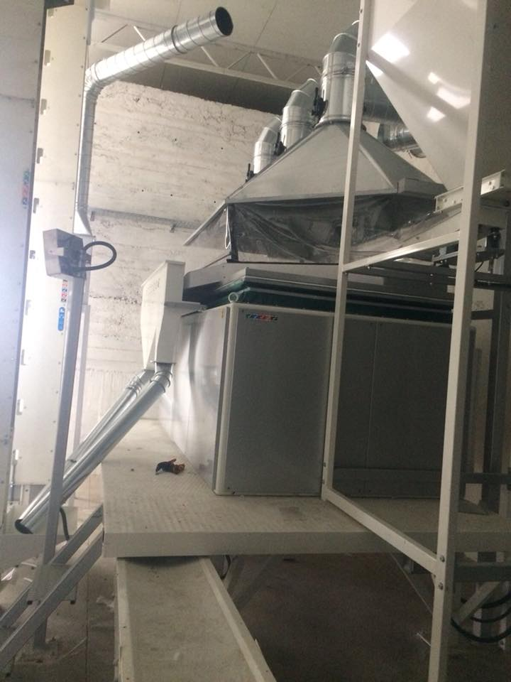 1.5T/H Pumpkin Seeds Cleaning Plant